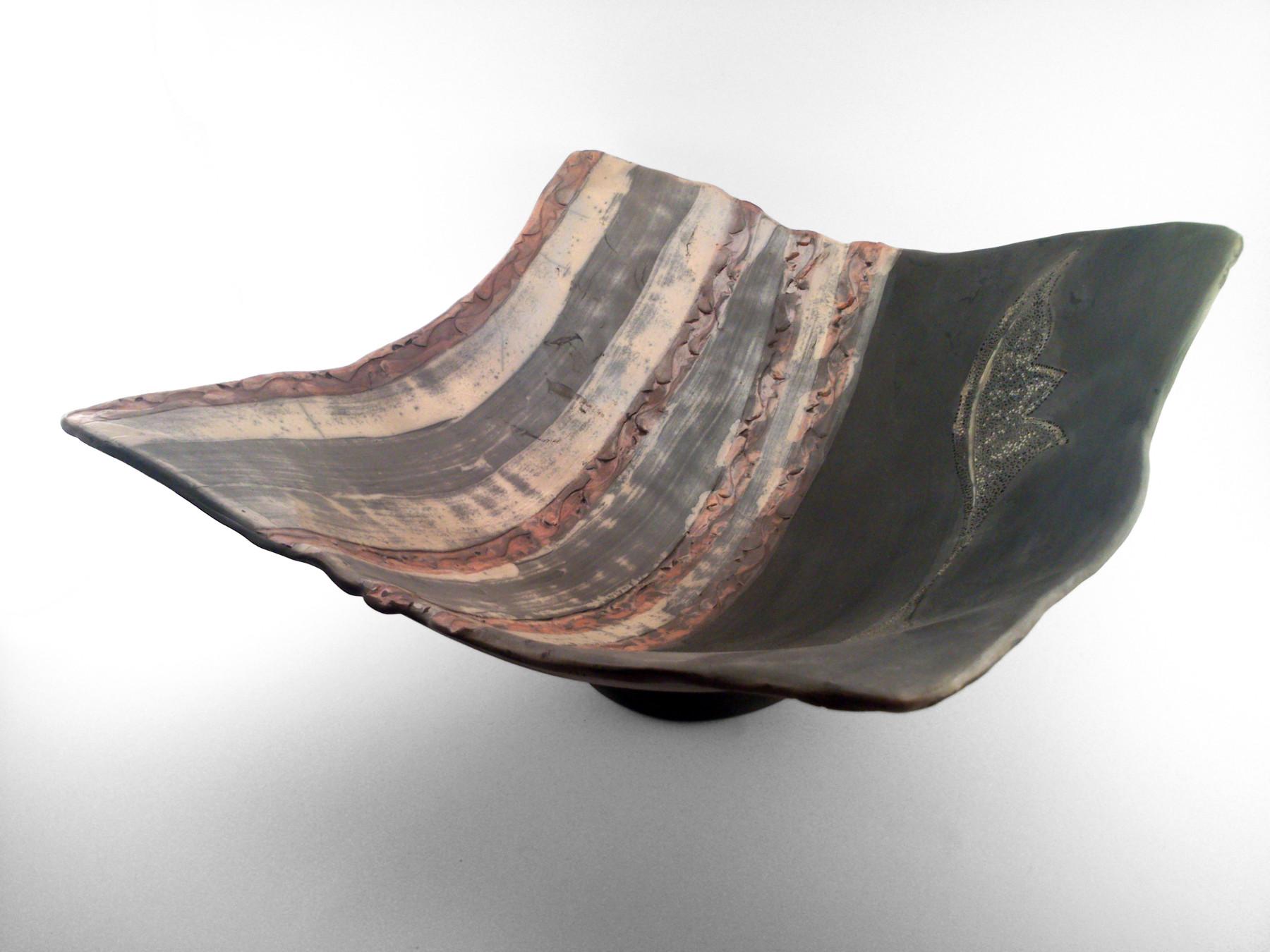 Silver Leaf Bowl - Ildikó Károlyi